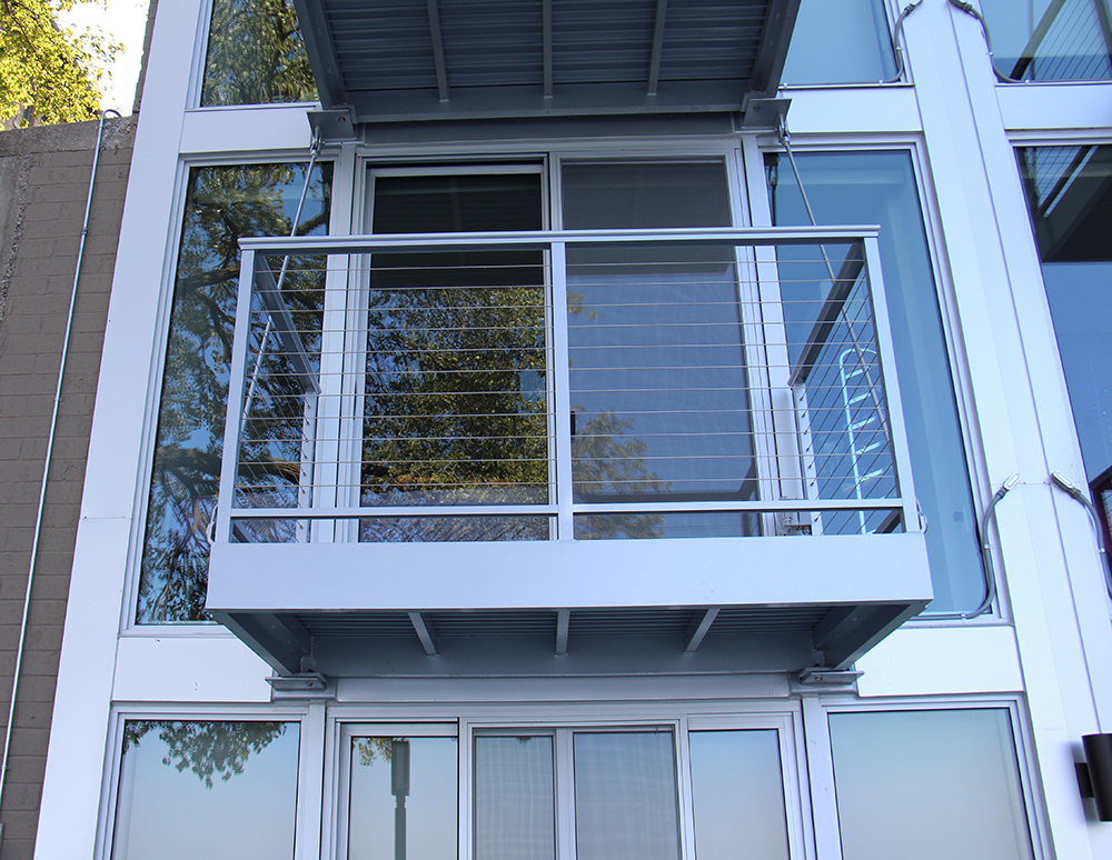 Aluminum Balconies Fuel Urban Development Midwest Stairs