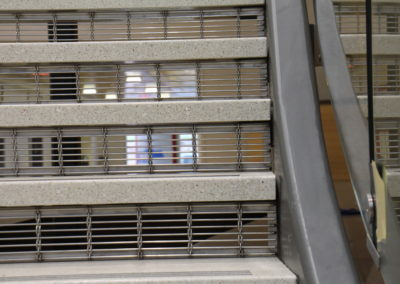 stainless steel stair risers-madison