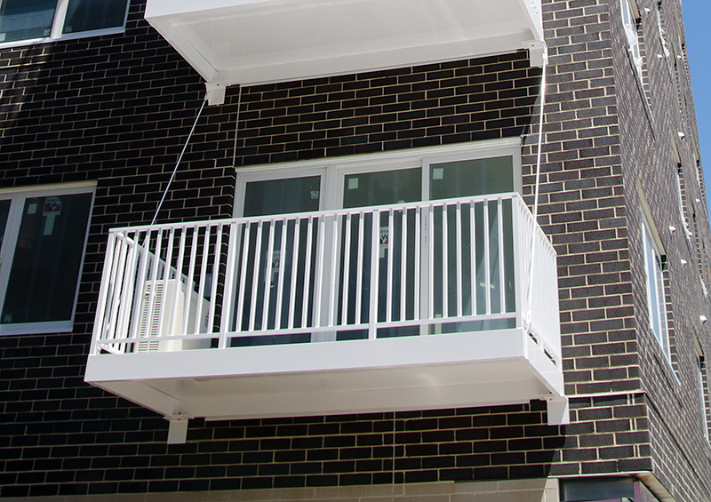 Balcony Railing Types Midwest Stairs Amp Iron