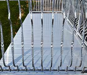 metal railing systems - ornamental
