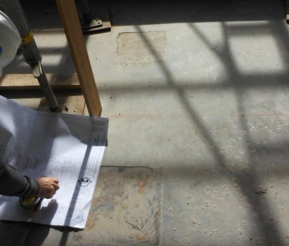 steel stairs - reviewing plans