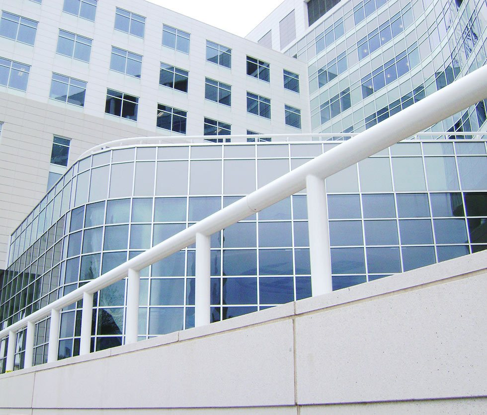 metal fabrication railing system