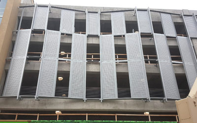 Good Parking Structure Design Includes Custom Perforated Metal Panels
