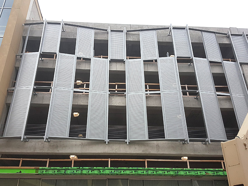 Why Good Parking Structure Design Should Include Custom Perforated Metal Panels