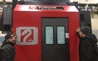 PythonX CNC Machine Adds Speed to Steel Fabrication